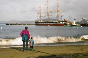 San Francisco: die historischen Schiffe des maritimen Museums.