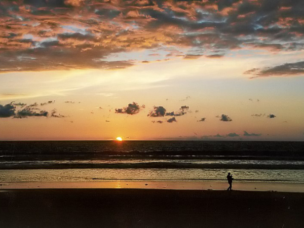 Sonnenuntergang - Doheny State Beach Park.