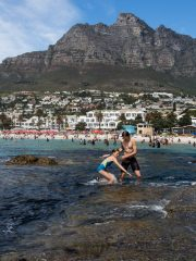 27.10. Baden in Camps Bay
