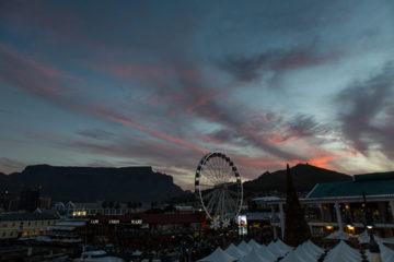27.10. V&A Waterfront - Sonnenuntergang