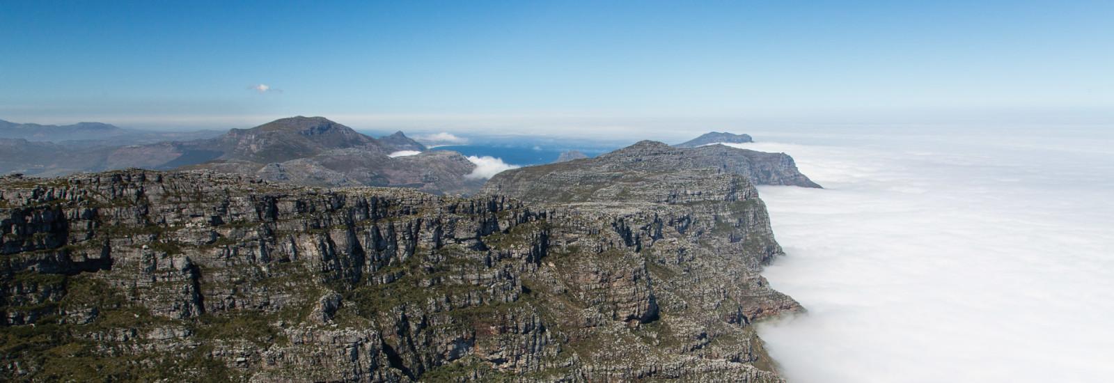 28.10. Tafelberg - Blick Richtung Westen
