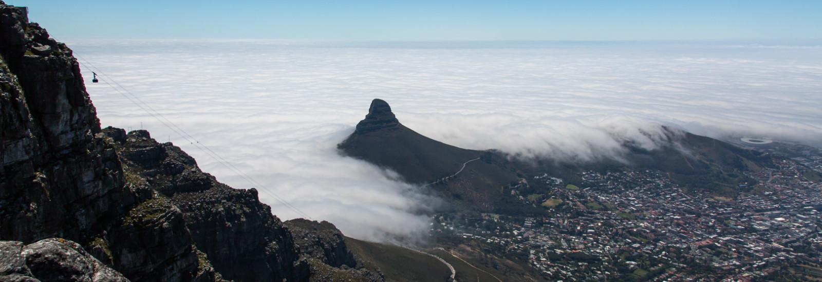 28.10. Tafelberg - Blick auf Kapstadt und Lion's Head