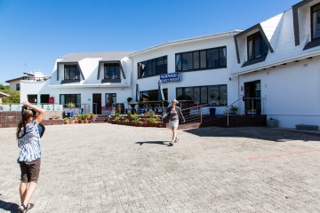 30.10. Struisbaai - im Mermaid Guesthouse :-)