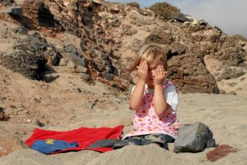 2005: Eine Maus am Strand :-)