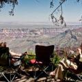 14.-16.6.2011 - Grand Canyon - Roosevelt Point: Picknick :-)))