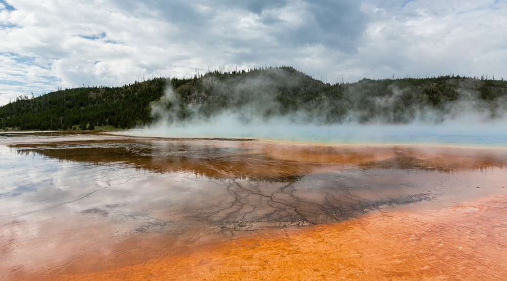 21.7. Midway Geyser Basin - Grand Prismatic Spring