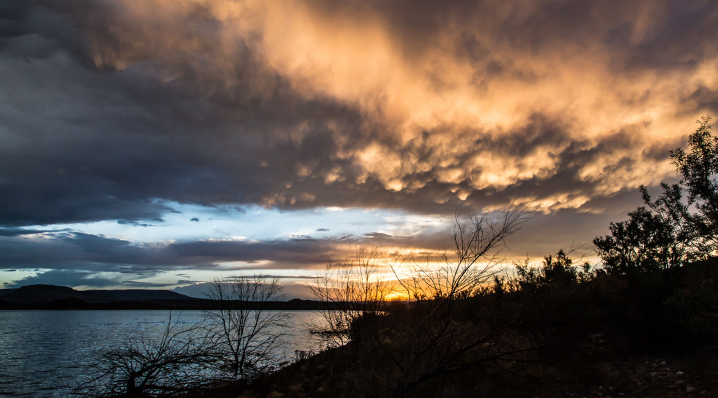 23.7. Flaming Gorge SP - Sunset