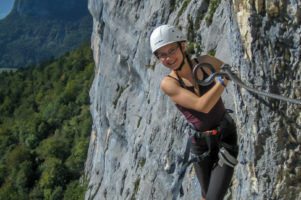 28.9.2014 Klettersteig Via Ferrata de Roche Veyrand, Grenoble