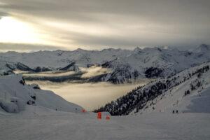 9.1.2015 - Abfahrt im Kicking Horse Ski Area