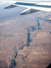 13.7. Über den Victoria Falls