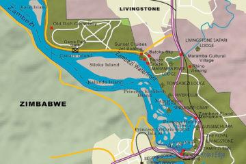 Zambezi, Mosi-oa-Tunya NP und die Viktoriafälle