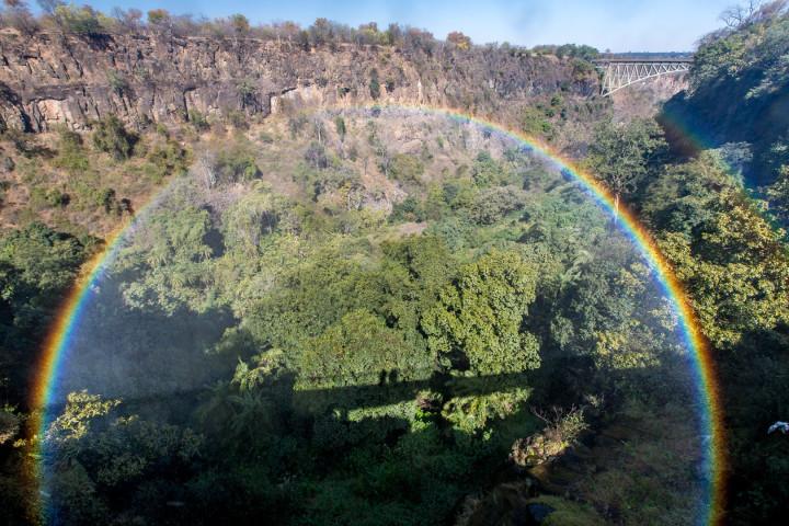 14.7. Victoria Falls, Knife Edge Bridge