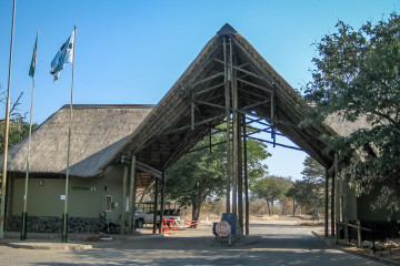 17./18.7. Chobe NP - Kasane-Einfahrt