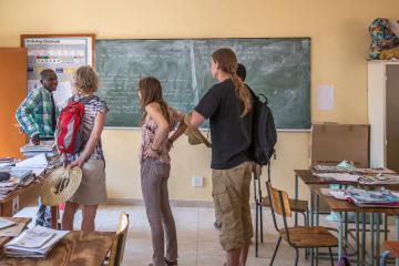 21.7. Village Visit, Biro Primary School