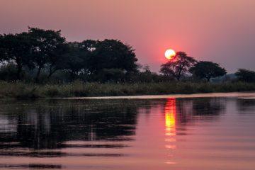 22.7. Sunrise Tour auf dem Kavango