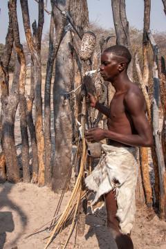 23.7. Living Museum der Mbunza - Jagdwaffen