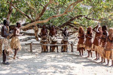 23.7. Living Museum der Mbunza - Tanzen