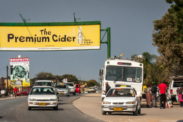 22.-24.7.: Rundu, 80T Einwohner - Verkehr