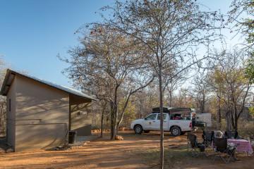25./26.7. Onguma, Tamboti Camp - Site 2