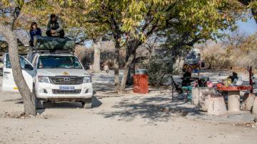 26./27.7. Halali Restcamp - Site 36