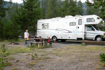 Madison Campground, 2006