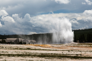 21.7. Upper Geyer Basin - Old Faithful Geyser