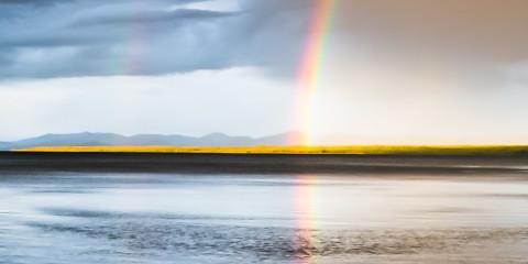 21.7. Grant - Wolkenbruch und Regenbogen