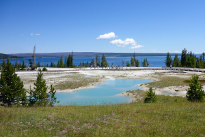 22.7. West Thumb Geyser Basin - Mimulus Pool