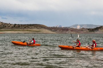 24.-25.7. Red Fleet SP - Kayak