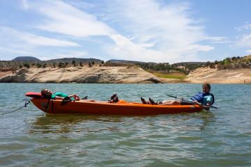 24.-25.7. Red Fleet SP - Kayak
