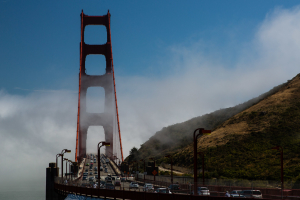 8.-11.7. San Francisco - Golden Gate Bridge