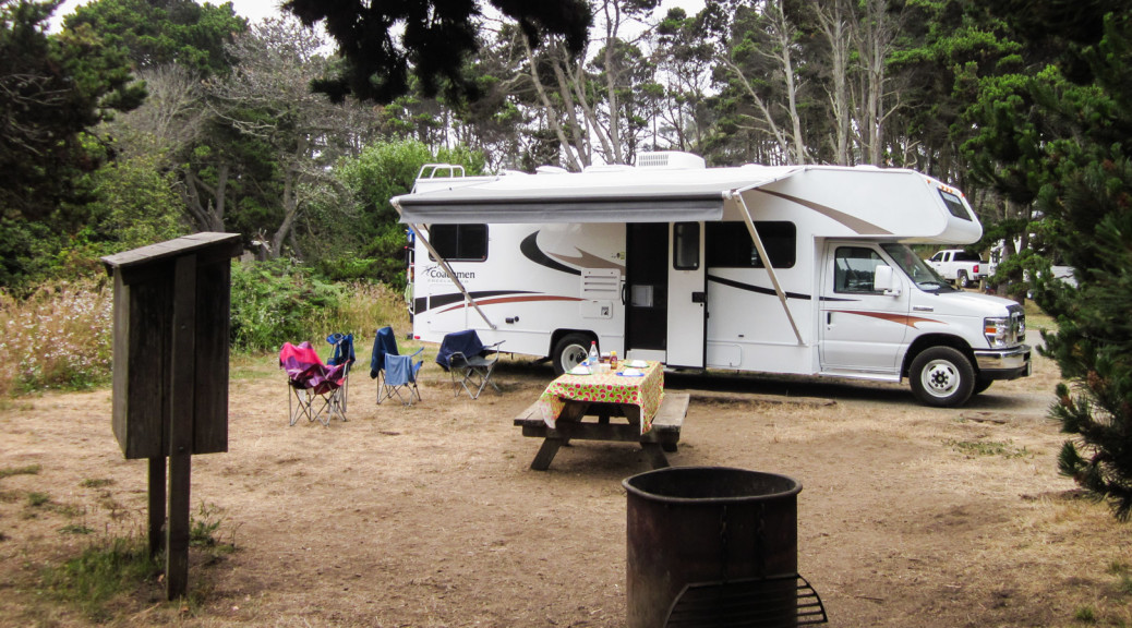 13.-15.7. MacKerricher SP - Surfwood Campground