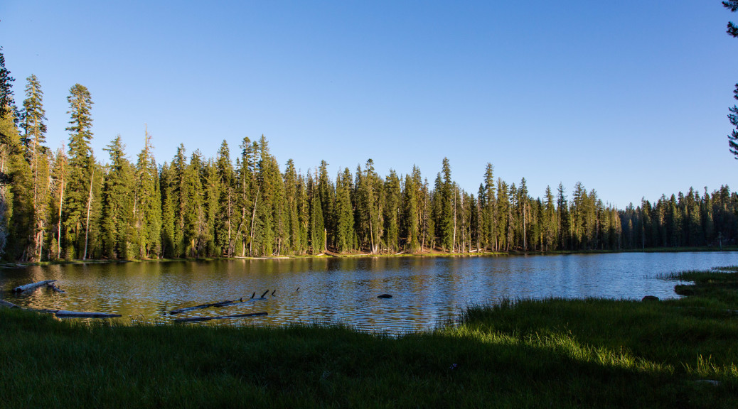 18.-20.7. Lassen NP - Summit Lake