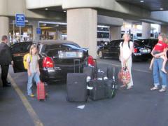 Limo vom Flughafen ins Hotel