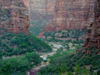 Zion - die Schlucht des Virgin River.
