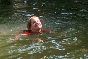 Schwimmen im Virgin River