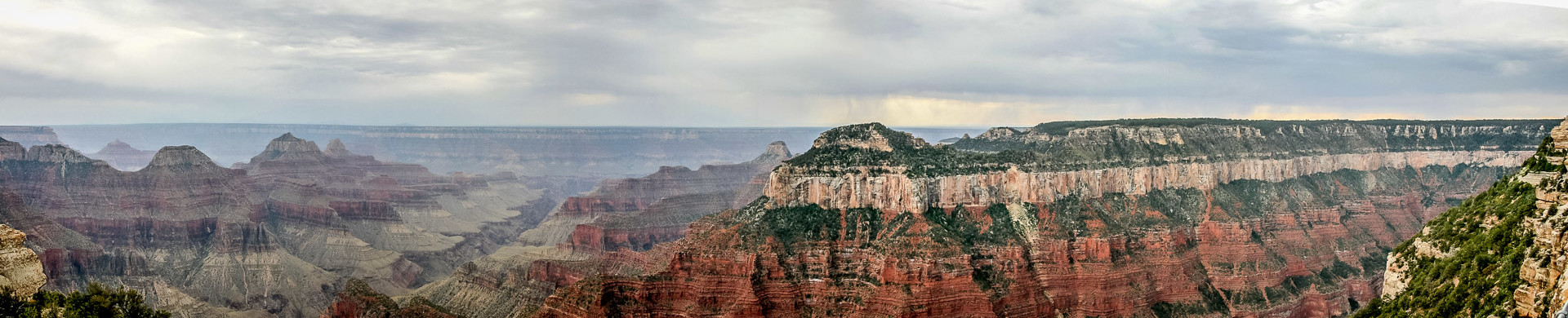 Grand Canyon: Bright Angel und Transept Canyon
