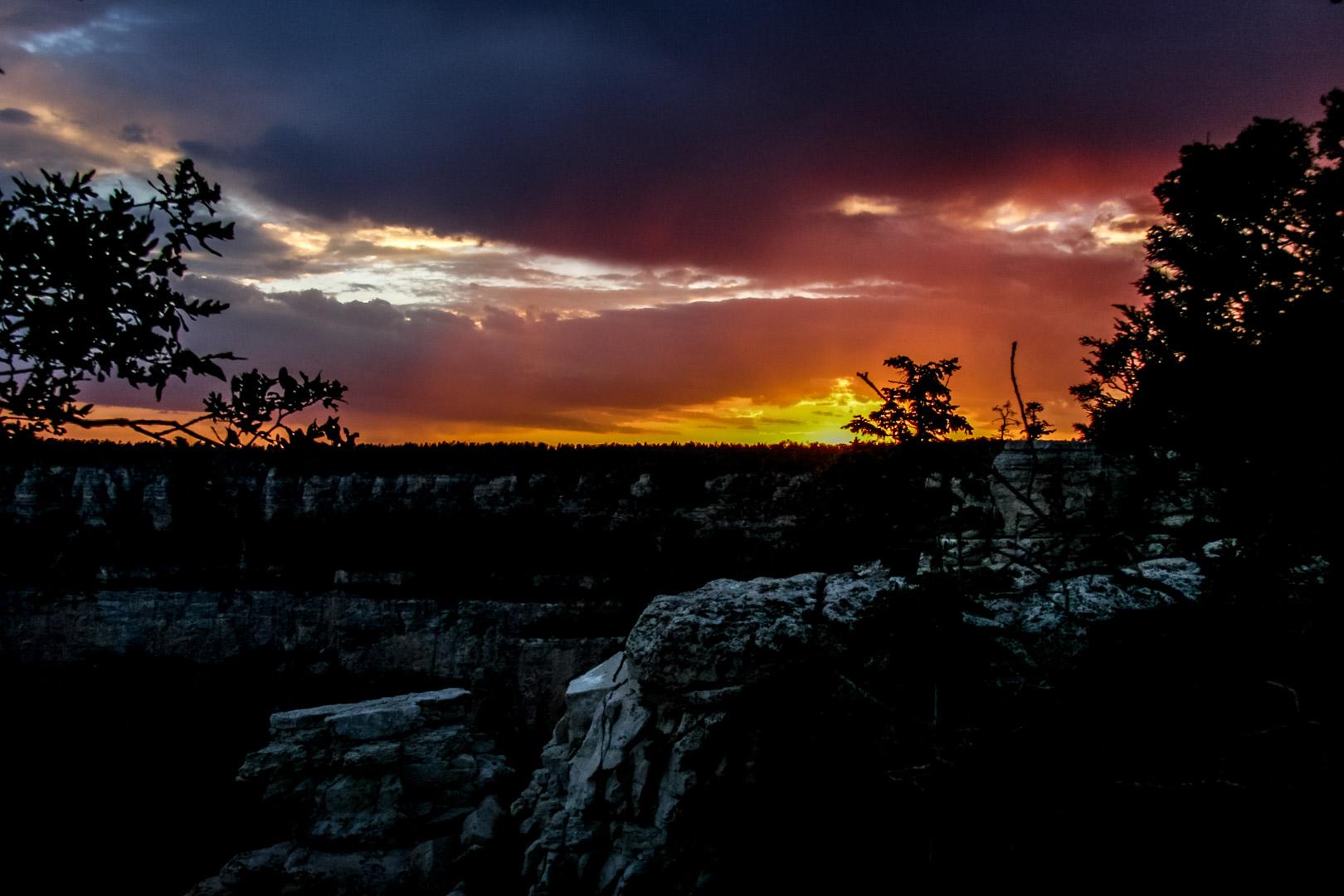 Grand Canyon - Sonnenuntergang