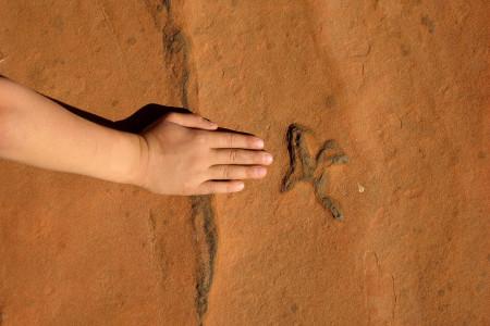 7.7. Wanderung zu den Dinosaur Tracks