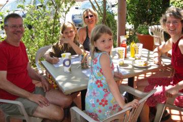 Mittagspause in Boulder, Utah.