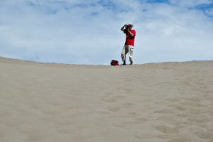21.-24.7. Great Sand Dunes - Photographer at Work ;-)
