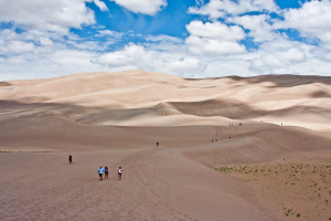 21.-24.7. Great Sand Dunes - Besteigung der High Dune