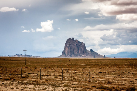 2.8. Navajo Land - Shiprock