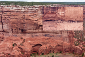 1.-2.8. - Canyon de Chelly.  Ruinen in schwindelerregender Höhe