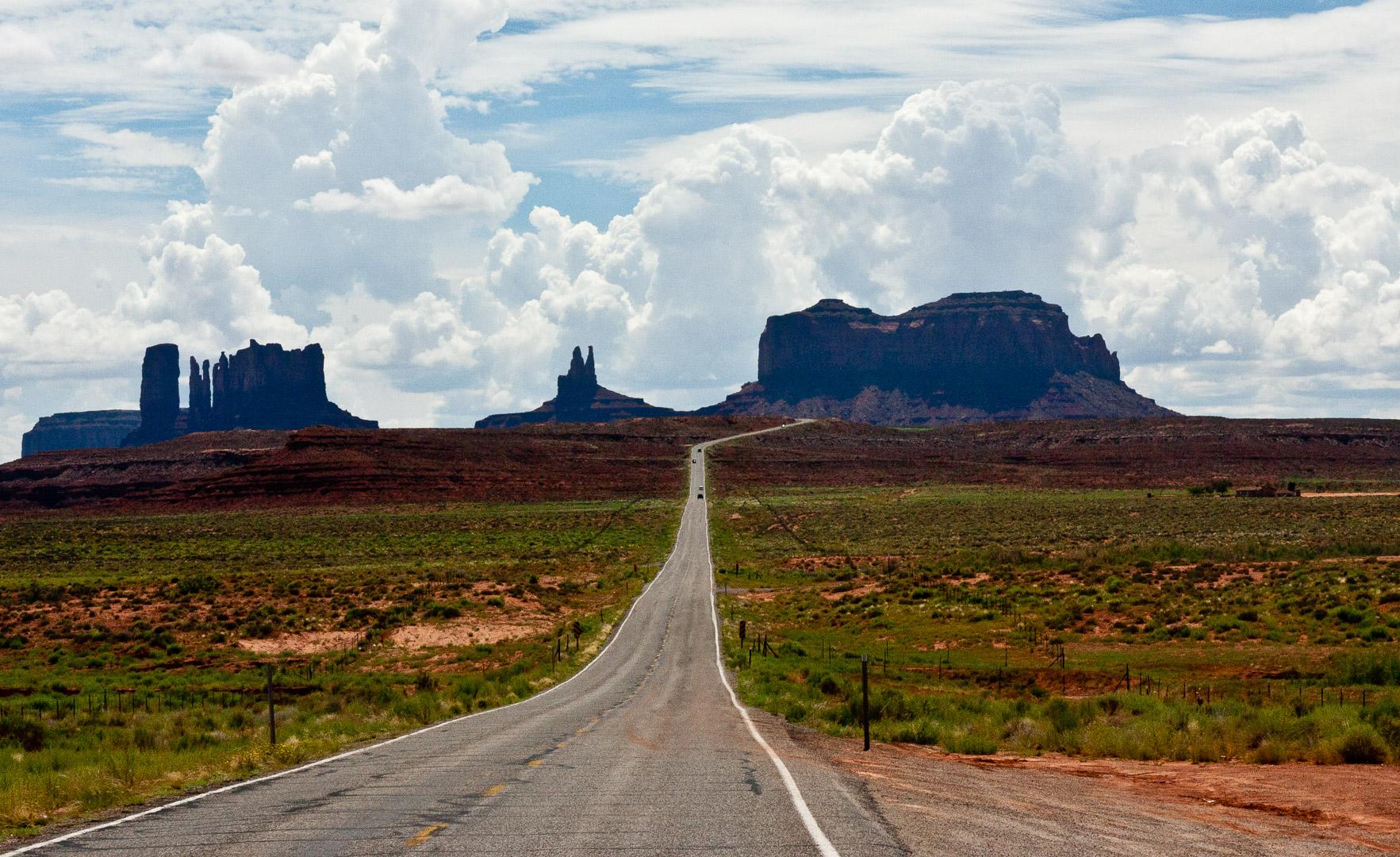 3.8. unterwegs zum Monument Valley