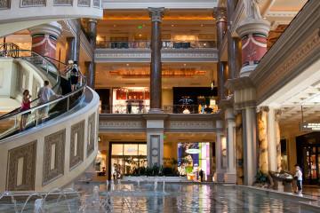 11.-13.6. Las Vegas - Shopping-Wunderwelt Caesars Palace