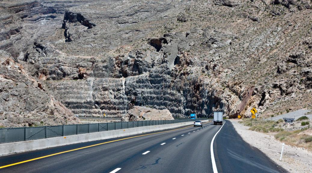 13.6. - Interstate zum Land der Canyons