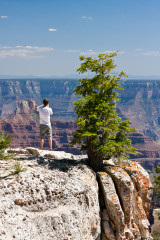 14.-16.6. Grand Canyon - Seitenschlucht am Campground