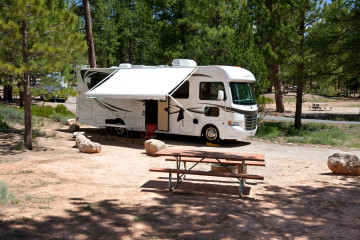16./17.6. Bryce Canyon - Campsite #11 des North CG