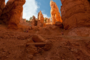 16./17.6. Bryce Canyon - Navajo Trail and Wall Street
